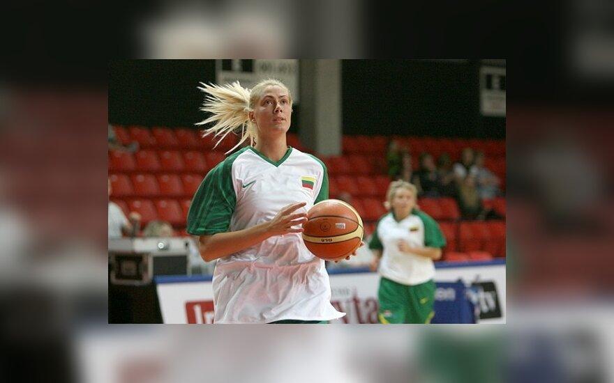 E.Staknevičienė Ispanijos moterų pirmenybėse pelnė net 29 taškus