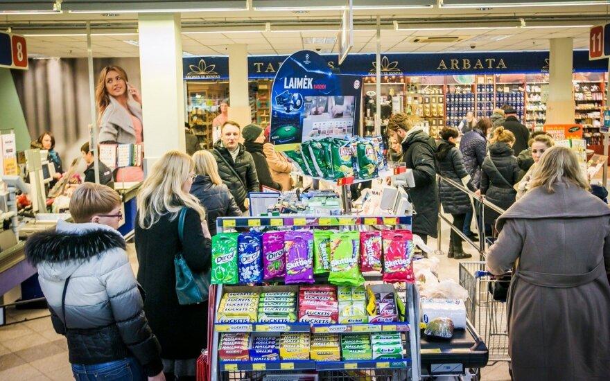 Pirkėjas Panevėžyje išgąsdino kitus: evakuota parduotuvė