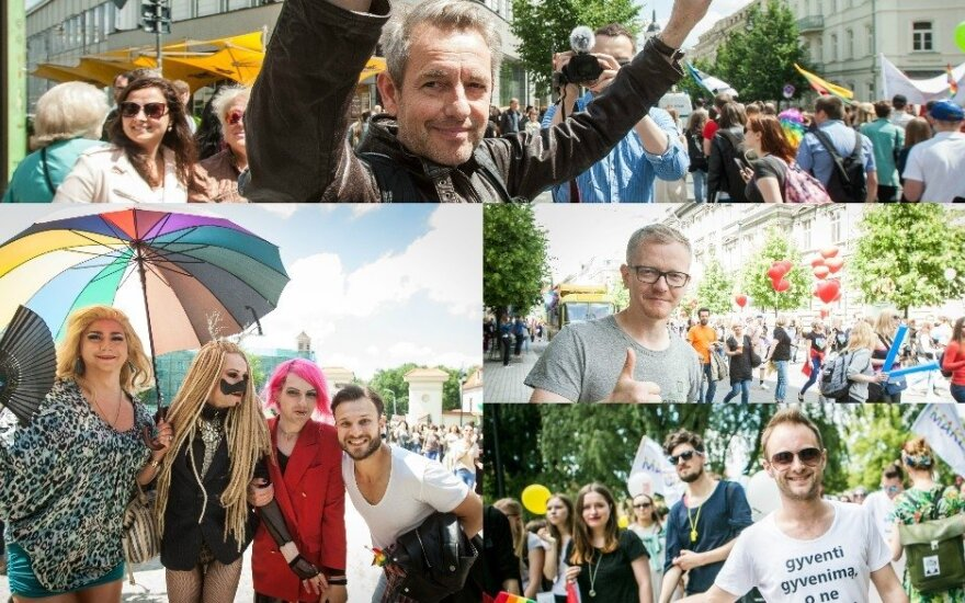Žinomi veidai LGBT eitynėse
