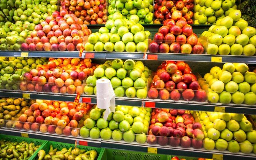 Lenkai užspaudė: lietuviškas vaisių ir uogų derlius puikus, bet liks pūti