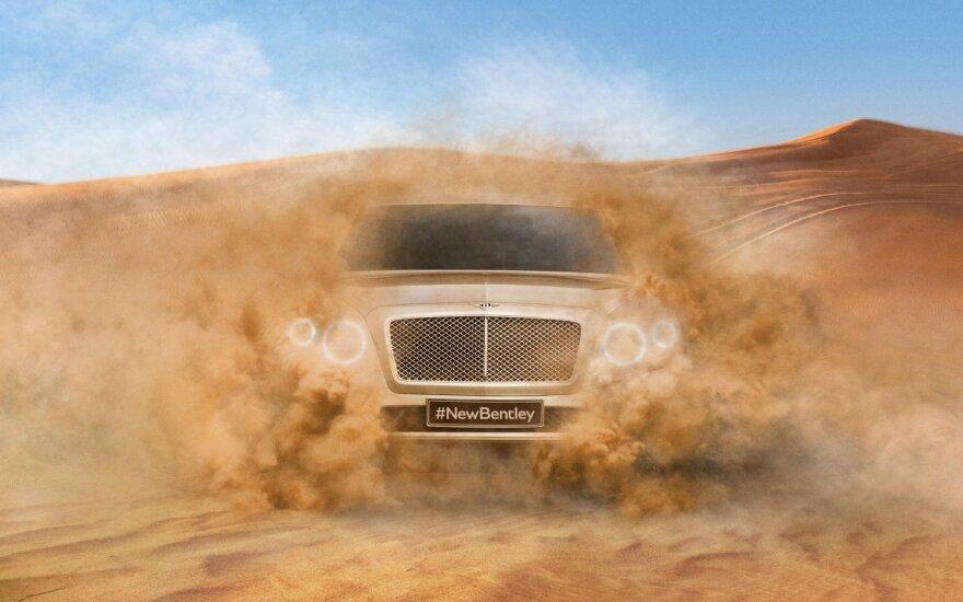 Greičiausias automobilis - Bentley