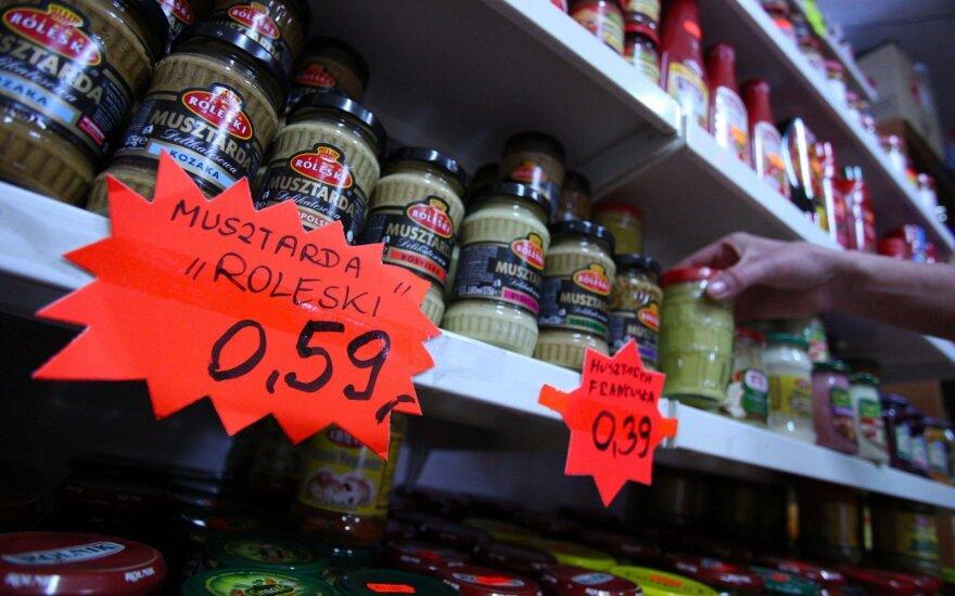 Lenkiškos prekės Bostono parduotuvėje