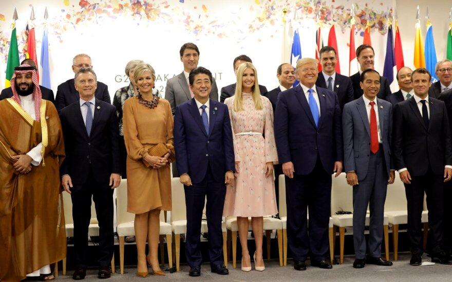 Ivanka Trump, Donaldas Trumpas per G20