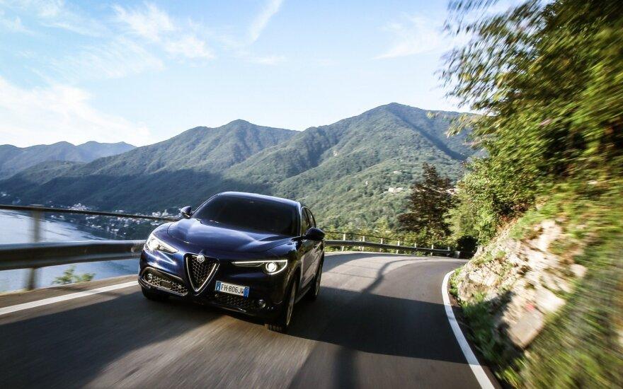 """Laukiama didesnio """"Alfa Romeo Stelvio"""" """"brolio"""""""