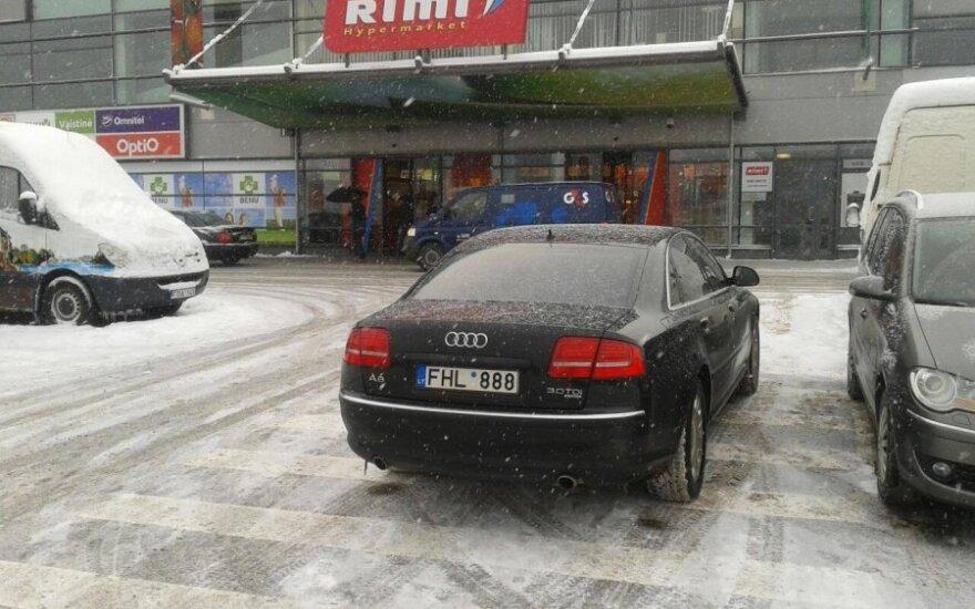 Vilniuje, Savanorių g. 2013-01-14