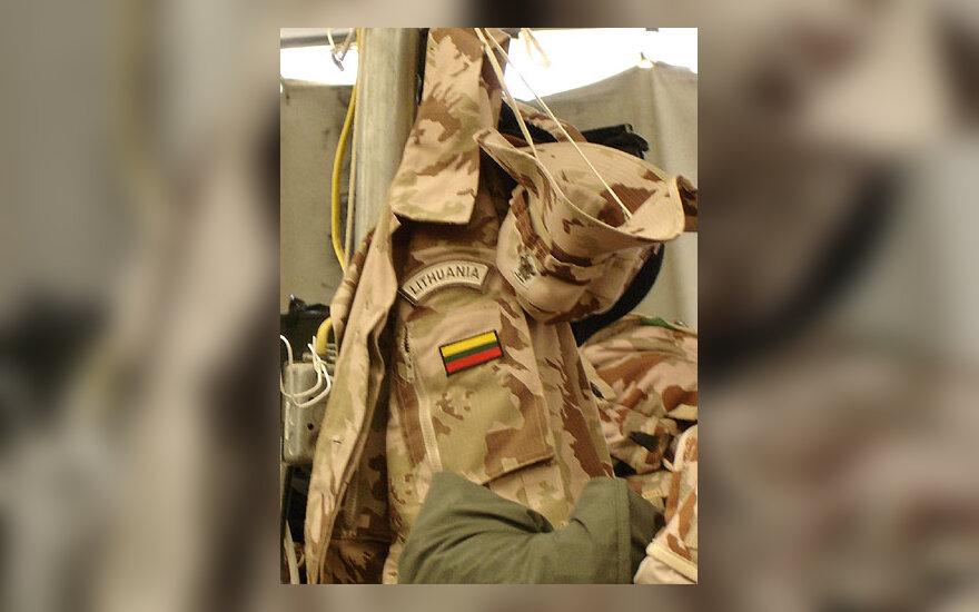 Lietuvos kario uniforma, kariuomenė