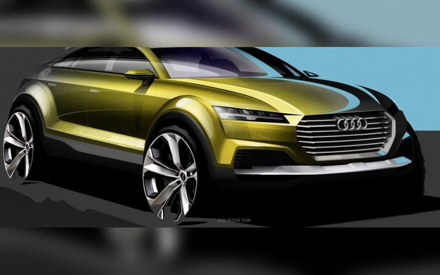 Audi koncepcija