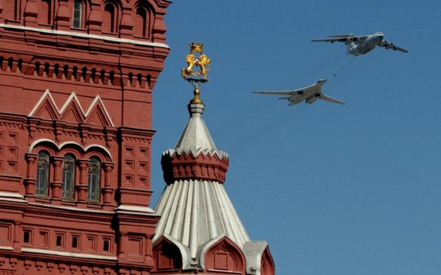 """Lietuvos ministras """"The Washington Times"""": Rusija užpildo Vakarų paliktus plyšius"""