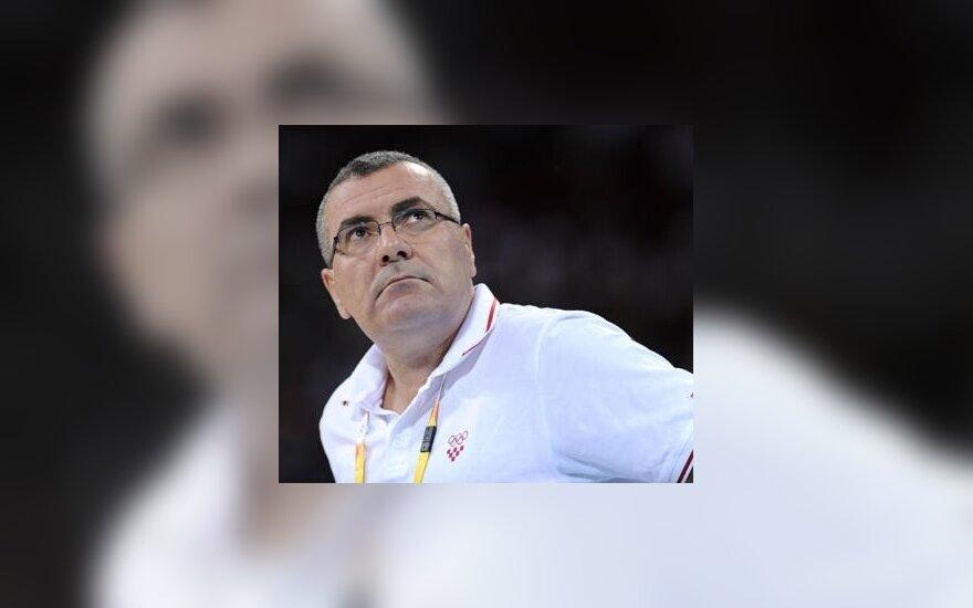 Kroatijos rinktinės treneris J.Repeša