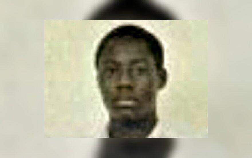 Lėktuvą bandęs susprogdinti nigerietis Umaras Faroukas Abdulmutallabas.