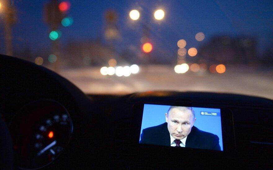 V. Putinas: metai buvo nepaprasti, susidūrėme su sunkumais