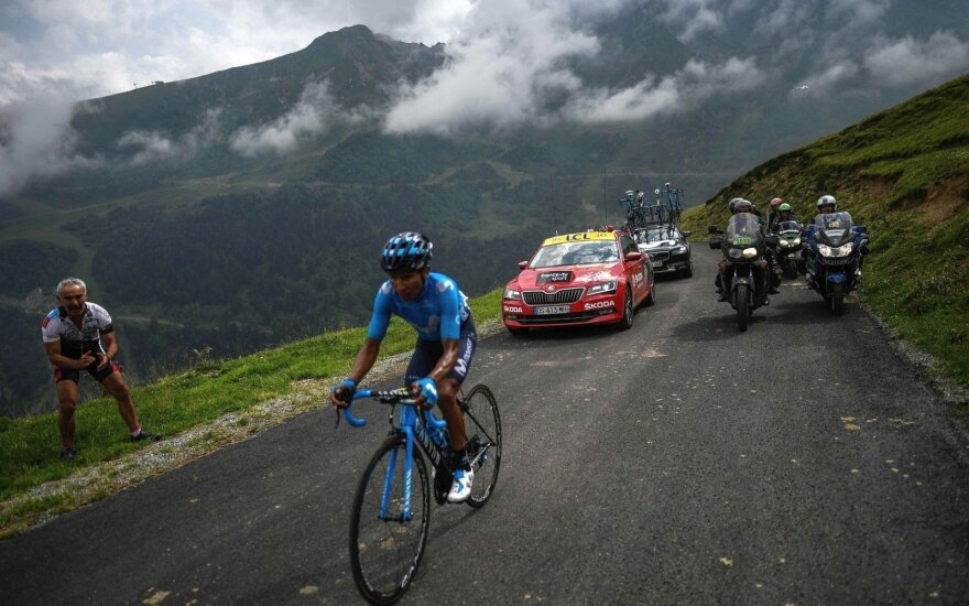 """Tour de France"" etapą laimėjo kolumbietis"