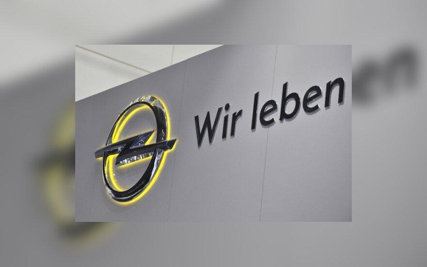 """""""Opel"""" dairosi partnerio naujo mažo modelio gamybai"""