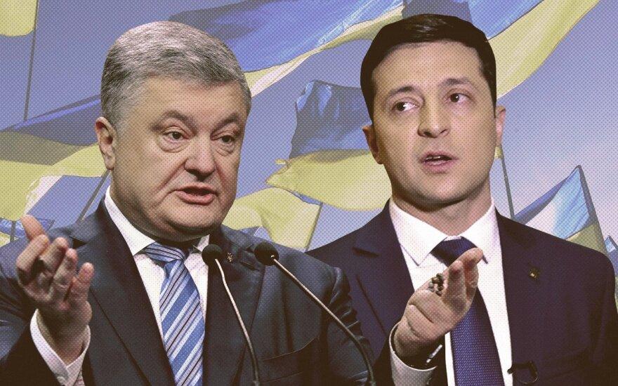 Petro Porošenka, Volodymyras Zelenskis