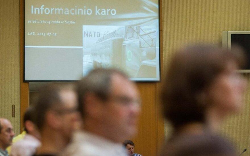 Konferencija apie informacinį karą prieš Lietuvą