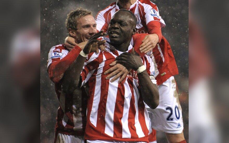"""Stoke City"" futbolininkų triumfas"
