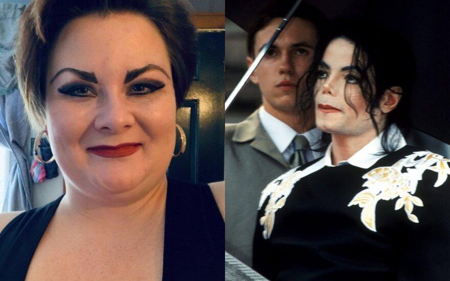 Kathleen Roberts, Michaelis Jacksonas / Foto: Instagram, Scanpix