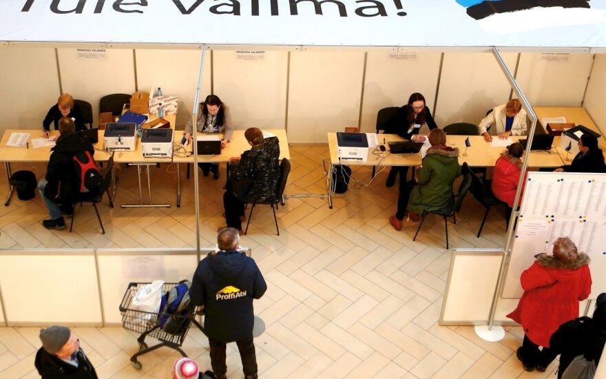 Apklausa: Estijoje per išankstinį balsavimą daugiausiai balsų gavo Reformų partija