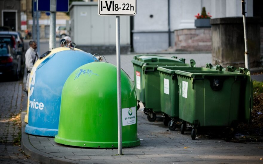 Lithuania recycles just 30 percent of waste
