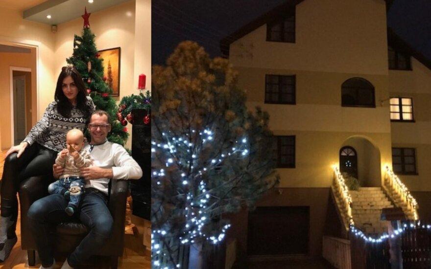 Pasiruošimas Kalėdoms Aro Vėberio ir Martynos Kerbedytės internete