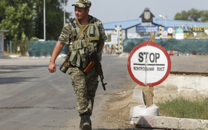 Russian-Ukrainian border