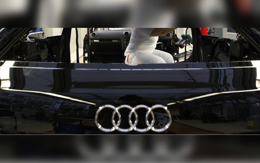 """""""Audi"""" pradės gamybą Rusijoje"""