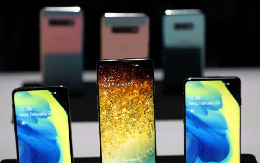 """""""Samsung"""" išmanieji telefonai"""