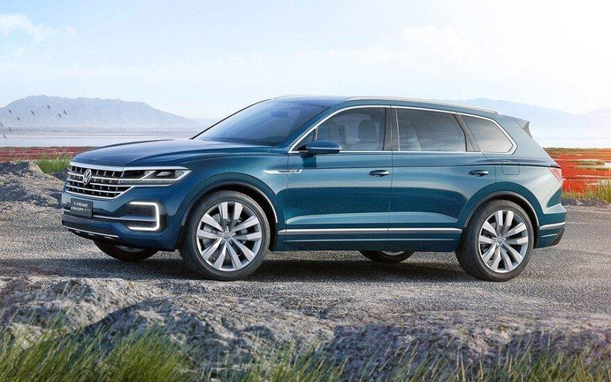 """Šviežiausia """"Volkswagen"""" naujiena - """"T-Prime Concept GTE"""""""