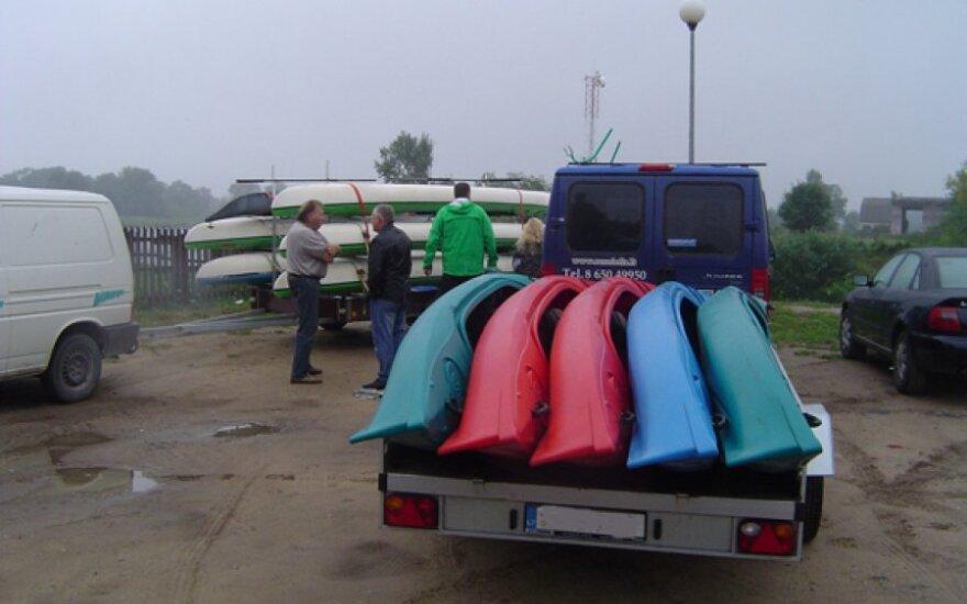 Ekologinis žygis Nemuno deltoje – su ekstremaliais išbandymais