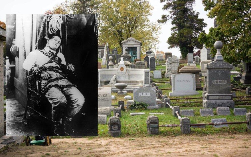 Harry Houdini ir jo kapas