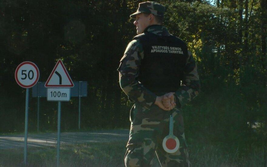 A border guard