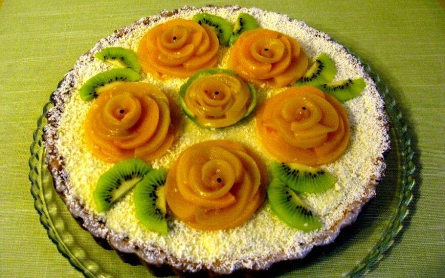 FANTASTIŠKAS moliūginis pyragas su panna cotta