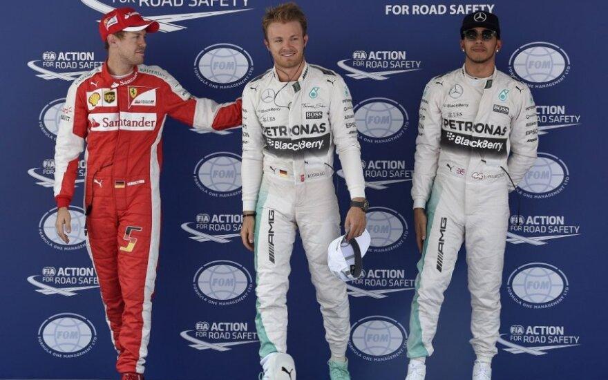 F-1 čempionato Ispanijos etapo kvalifikacijos nugalėtojai
