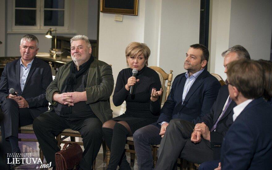 Alfredas Bumblauskas, Edita Mildažytė, Eduardas Eigirdas, Foto: Augustinas Žukovas