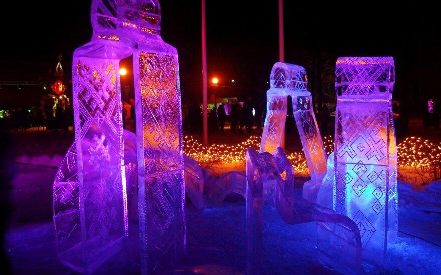 Savaitgalį vyks du ledo skulptūrų festivaliai – teks nuspręsti, į kurį vykti