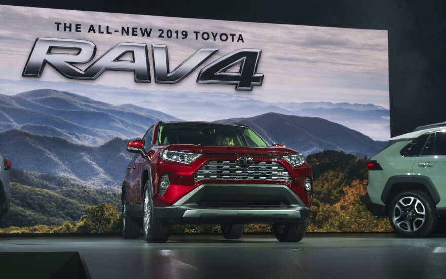"""Toyota RAV4"" Niujorko parodoje"