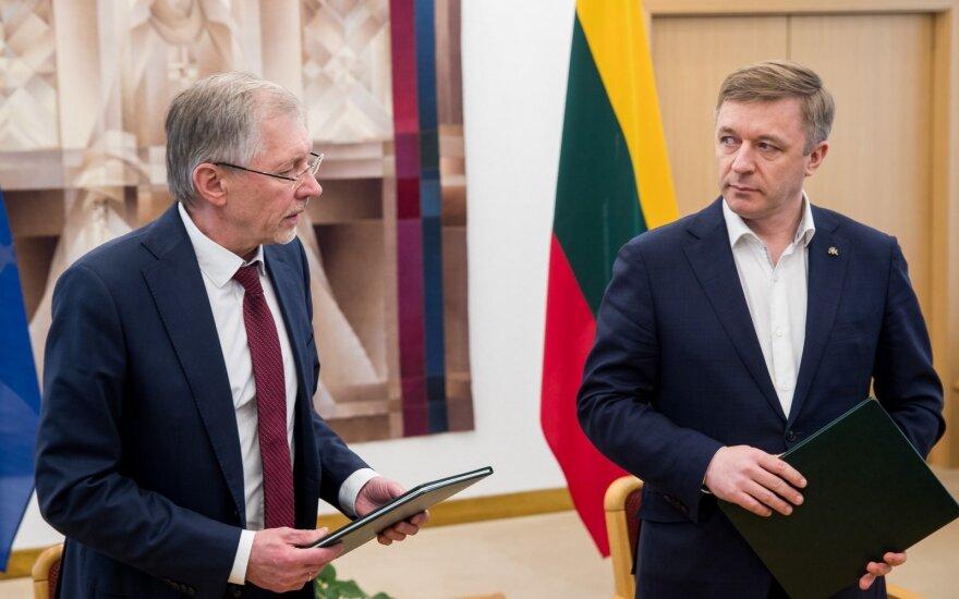 Gediminas Kirkilas, Ramūnas Karbauskis