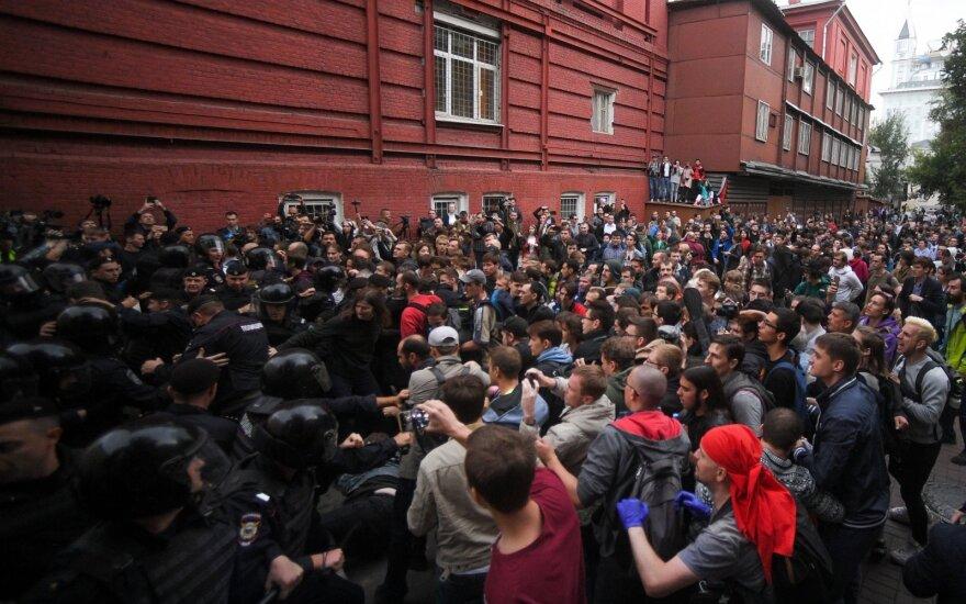 Rusijos opozicija surengė protestą