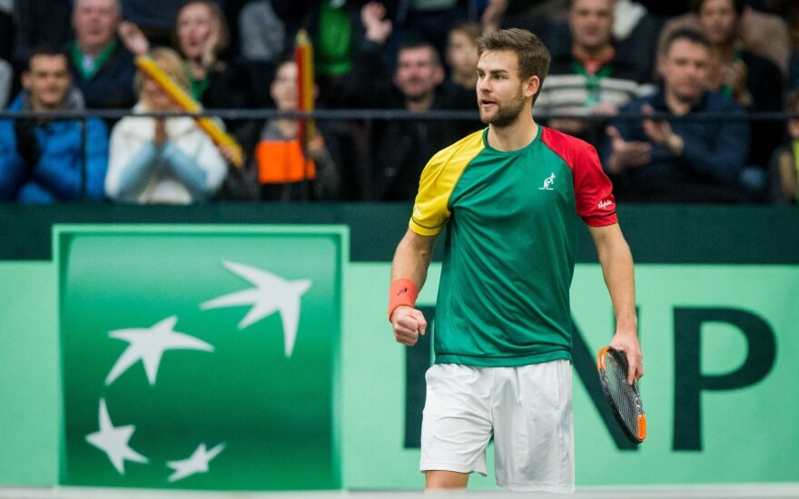 Grigelis Italijoje pralaimėjo Vokietijos tenisininkui