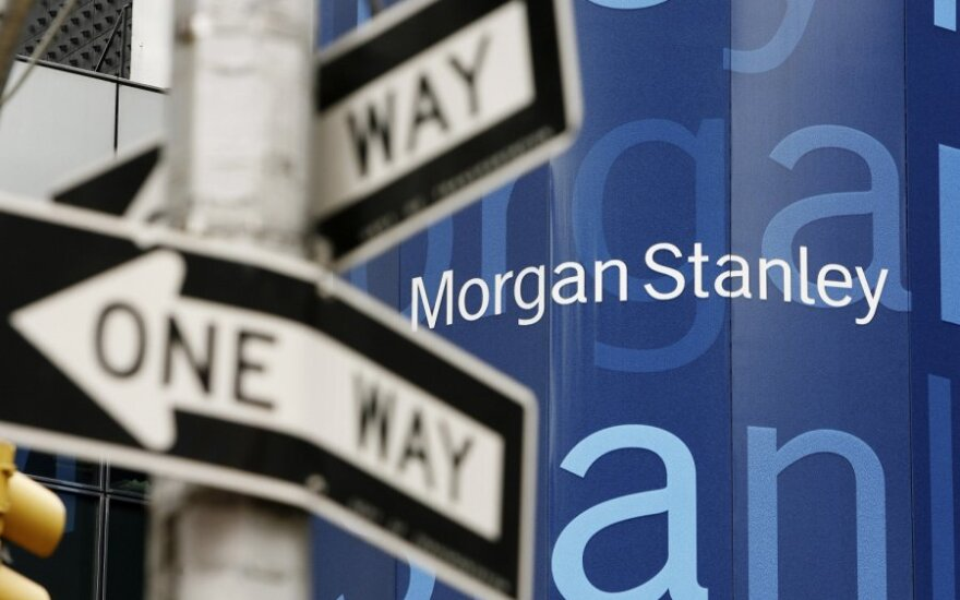 """""""Morgan Stanley"""" įsigys elektroninę prekybos platformą """"E*Trade"""" už 13 mlrd. JAV dolerių"""
