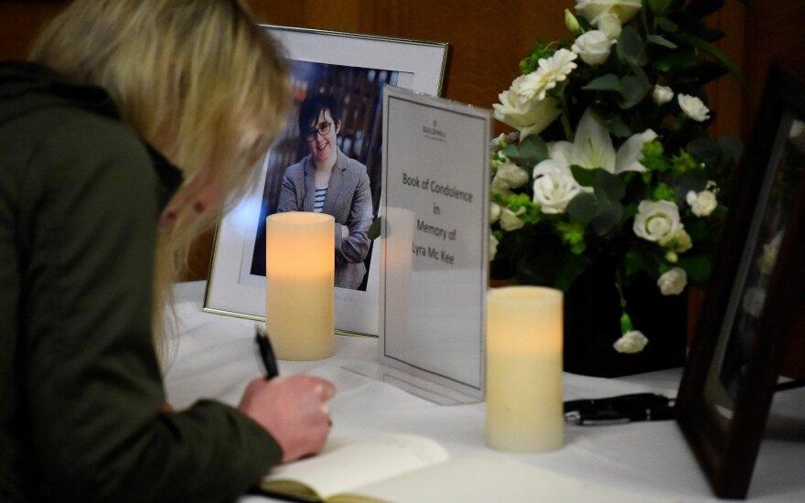 Šiaurės Airijoje dėl žurnalistės nužudymo sulaikyta moteris