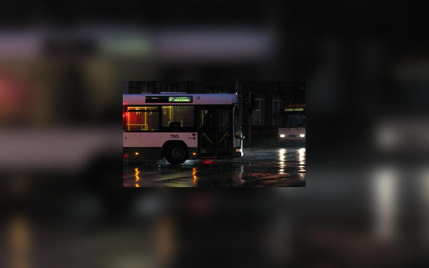 Autobusas, troleibusas