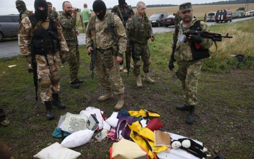 Ukrainiečiai Antiteroristinės operacijos štabe sugavo rusų šnipą