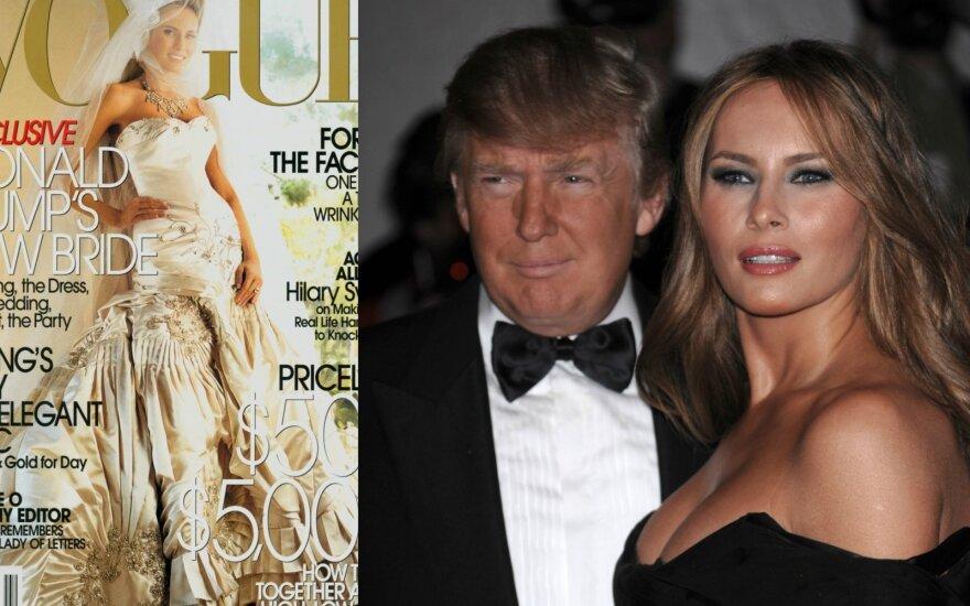 Vogue žurnalo viršelis, Donaldas ir Melania Trumpai