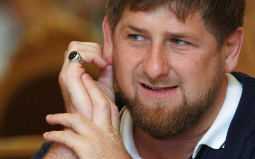 R. Kadyrovas: užimti Donbasą ar Kijevą – juokų darbas
