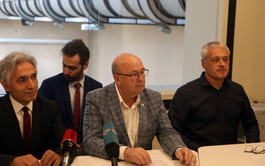 Rekonstruojamo Kauno stadiono pristatymas
