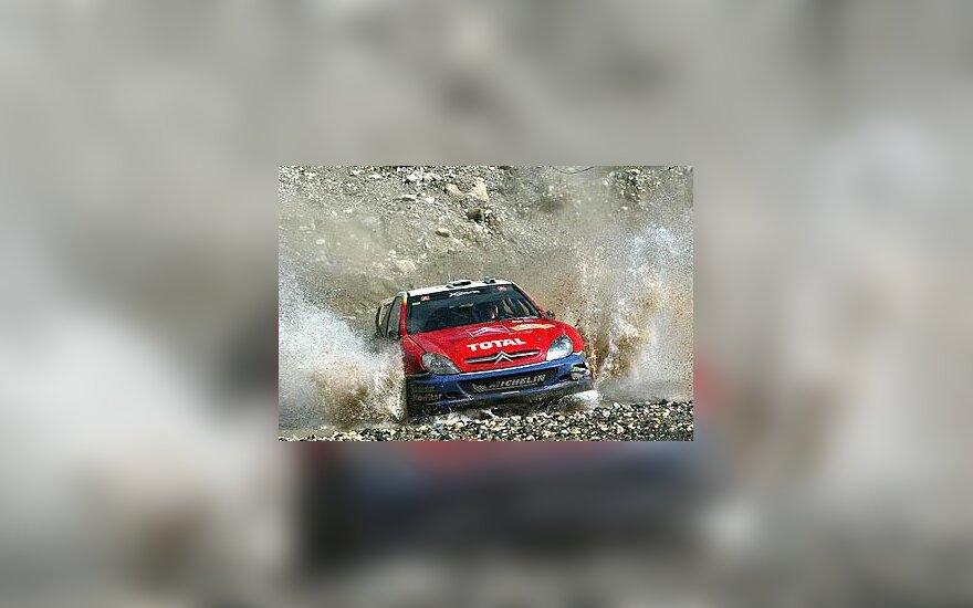 """Carlos Sainz, """"Citroen Xsara WRC"""""""