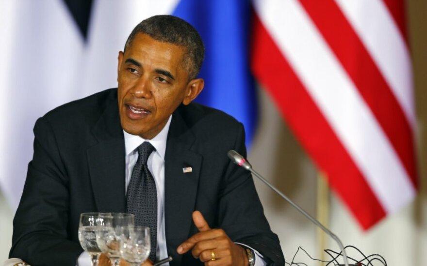 B. Obama: JAV padės, bet Irako valdžia pati turi įveikti susiskaidymą