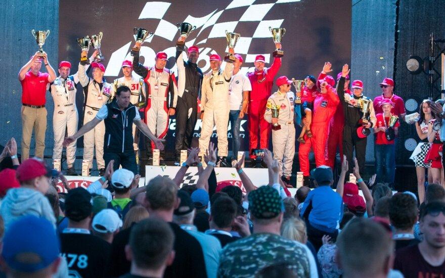 """Pergalių fanfaros aidėjo ir """"Eneos 1006 km"""" lenktynių klasių nugalėtojams"""