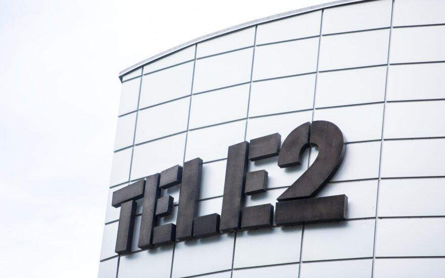 """""""Tele2"""" pajamos šiemet augo 7 proc. iki 120 mln. eurų"""